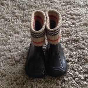 BURBERRY KIDS RAIN BOOTS/WELLIES